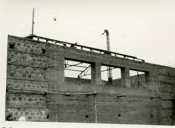 MMH-062-Construcción del Tallerón del Museo de Victorio Macho_1954