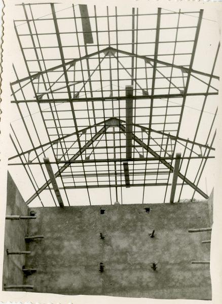 MMH-063-Construcción del Tallerón del Museo de Victorio Macho_1954 - Fot Celestino