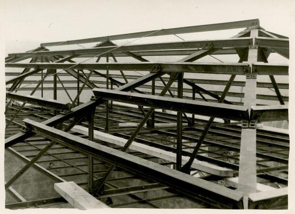 MMH-064-Construcción del Tallerón del Museo de Victorio Macho_1954 - Fot Celestino