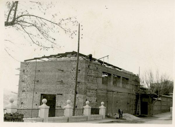 MMH-065-Construcción del Tallerón del Museo de Victorio Macho_1954 - Fot Celestino