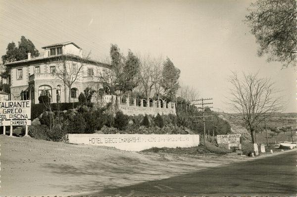 MMH-073-Hotel Greco en la carretera de Madrid_ca 1955