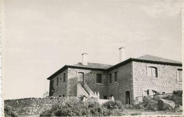 MMH-124-Obras en un pilar en el sifón del canal de aguas del Torcón_Septiembre de 1952