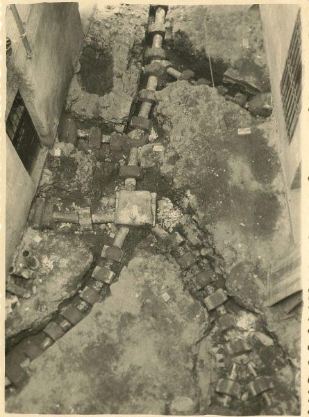 MMH-190-Obras de urbanización en un callejón de Nuncio Viejo_1959 - Fot Celestino