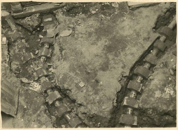 MMH-191-Obras de urbanización en un callejón de Nuncio Viejo_1959 - Fot Celestino