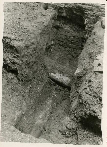 MMH-199-Obras de urbanización en la calle Jardines_1959 - Fot Celestino