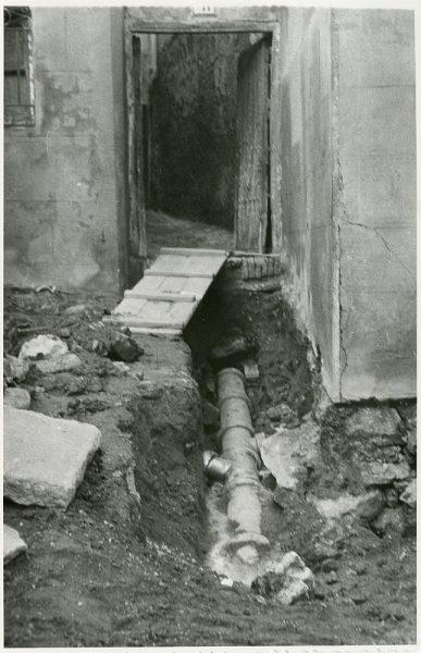 MMH-217-Obras de urbanización en la calle Tendillas_1959 - Fot Flores