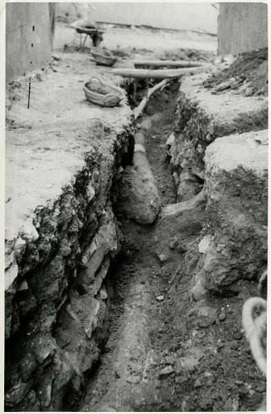 MMH-222-Obras de urbanización en la calle y plaza Buzones_1959 - Fot Flores