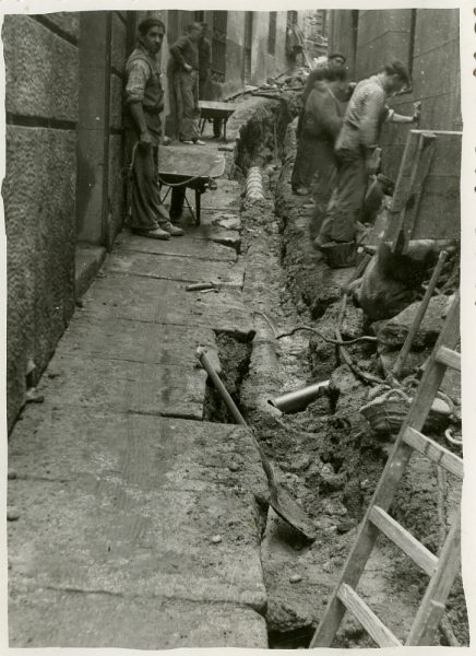 MMH-240-Obras de urbanización en la cuesta de la Sal_1960 - Fot Celestino
