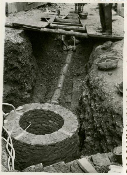 MMH-243-Obras de urbanización en la cuesta de la Sal_1960 - Fot Celestino