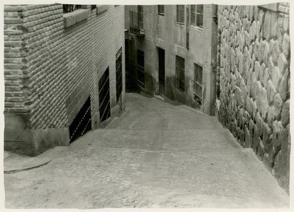 MMH-245-Obras de urbanización en la calle de la Sal_1960 - Fot Celestino