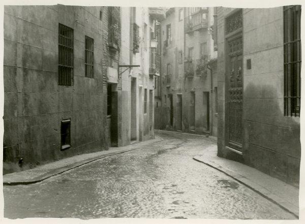 MMH-248-Obras de urbanización en la calle de la Sal_1960 - Fot Celestino