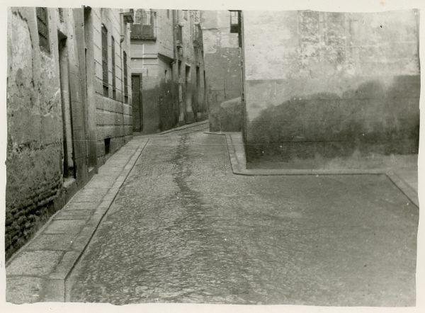 MMH-249-Obras de urbanización en la calle de la Sal_1960 - Fot Celestino