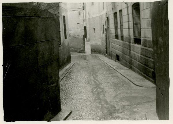 MMH-250-Obras de urbanización en la calle de la Sal_1960 - Fot Celestino