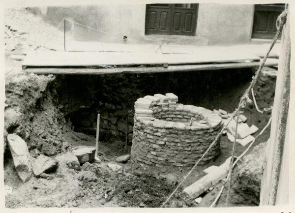 MMH-256-Obras de urbanización en la calle de la Lechuga o Bécquer_1960 - Fot Celestino