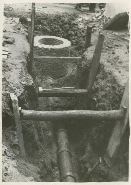 MMH-257-Obras de urbanización en la calle de la Lechuga o Bécquer_1960 - Fot Celestino