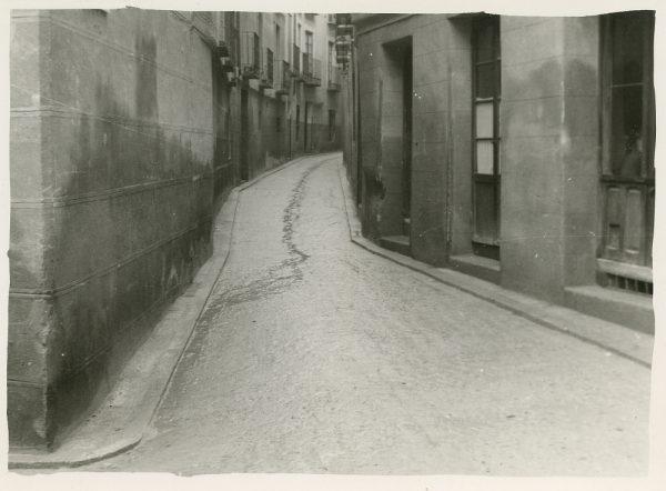 MMH-265-Obras de urbanización en la calle de San Ginés_1960 - Fot Celestino