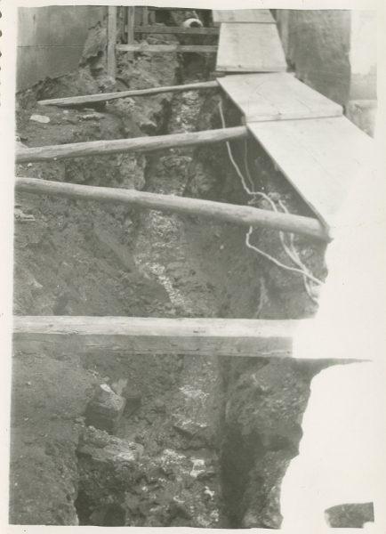 MMH-268-Obras de urbanización en el callejón de San Ginés_1960 - Fot Celestino