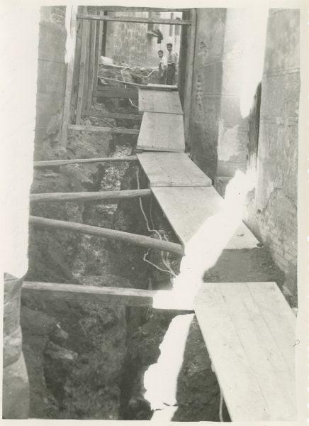 MMH-269-Obras de urbanización en el callejón de San Ginés_1960 - Fot Celestino