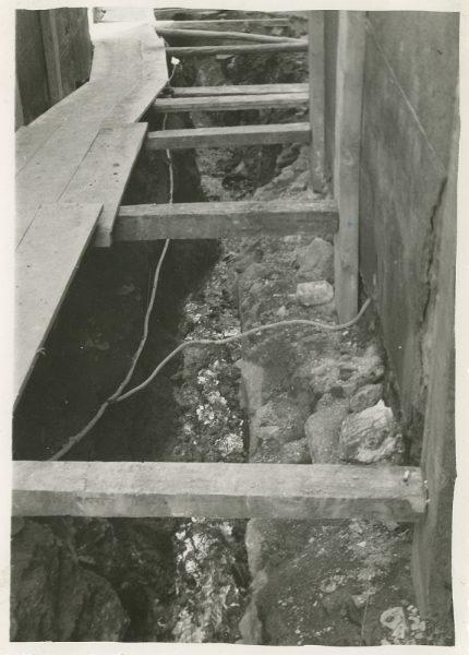 MMH-270-Obras de urbanización en el callejón de San Ginés_1960 - Fot Celestino