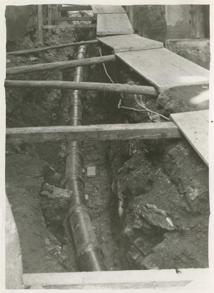 MMH-271-Obras de urbanización en el callejón de San Ginés_1960 - Fot Celestino