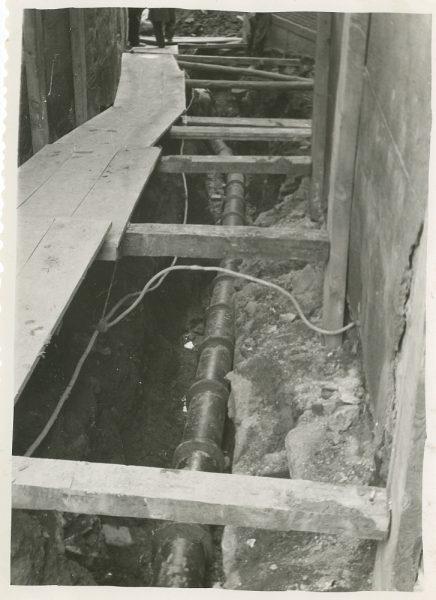 MMH-272-Obras de urbanización en el callejón de San Ginés_1960 - Fot Celestino