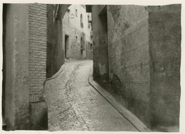 MMH-273-Obras de urbanización en el callejón de San Ginés_1960 - Fot Celestino