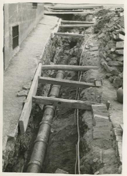 MMH-280-Obras de urbanización en la calle de la Granada_1960 - Fot Celestino