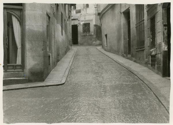 MMH-281-Obras de urbanización en la calle de la Granada_1960 - Fot Celestino