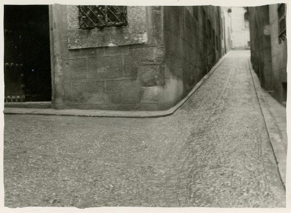 MMH-282-Obras de urbanización en la calle de la Granada_1960 - Fot Celestino