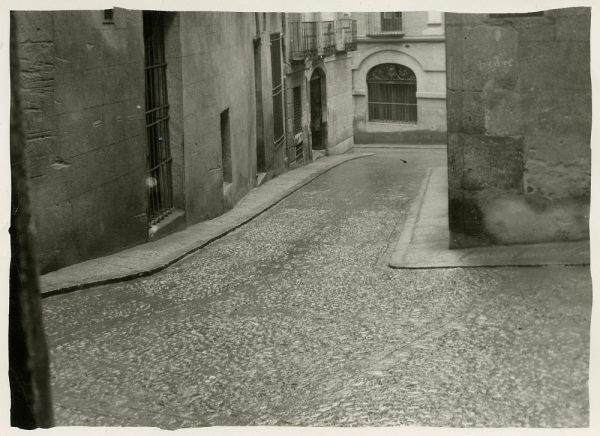 MMH-283-Obras de urbanización en la calle de la Granada_1960 - Fot Celestino