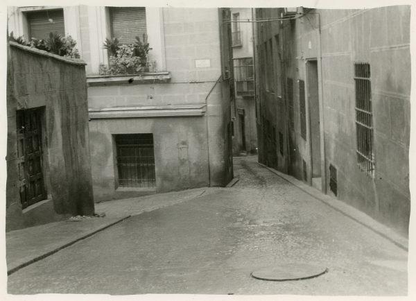 MMH-284-Obras de urbanización en la calle de la Granada_1960 - Fot Celestino