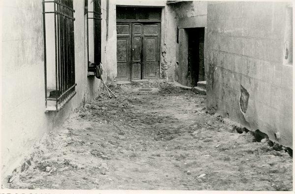 MMH-328-Obras de urbanización del callejón de San José_1960 - Fot Flores