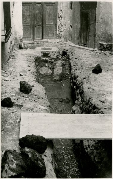 MMH-329-Obras de urbanización del callejón de San José_1960 - Fot Flores