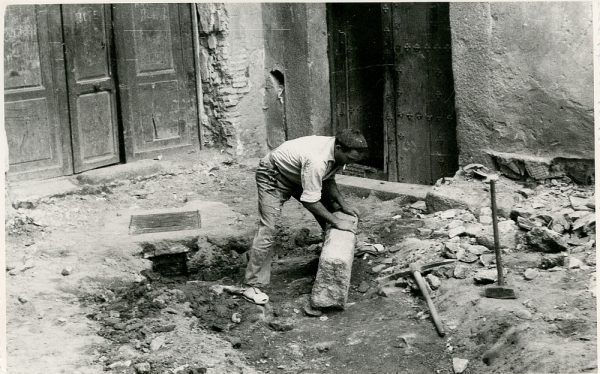 MMH-330-Obras de urbanización del callejón de San José_1960 - Fot Flores