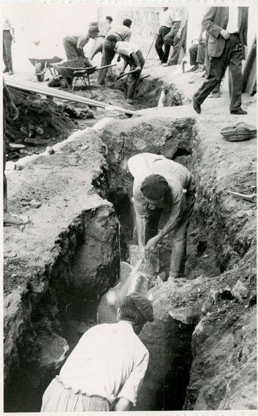 MMH-333-Obras de urbanización del callejón de San José_1960 - Fot Flores