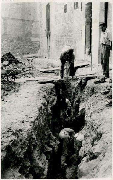 MMH-335-Obras de urbanización del callejón de San José_1960 - Fot Flores