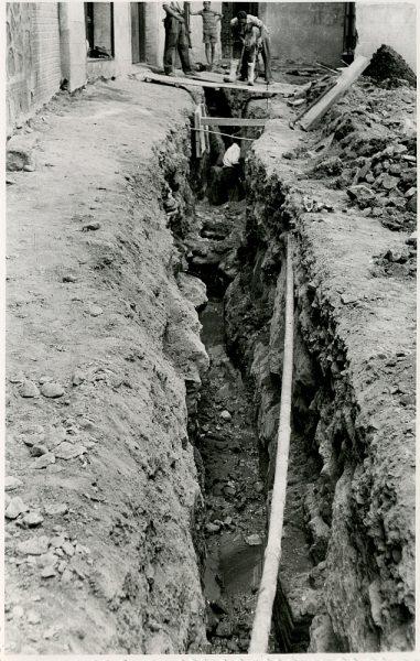 MMH-336-Obras de urbanización del callejón de San José_1960 - Fot Flores
