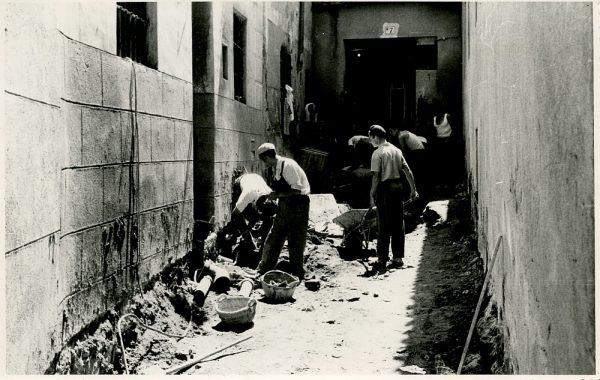 MMH-338-Obras de urbanización del callejón de San José_1960 - Fot Flores