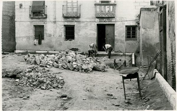MMH-339-Obras de urbanización del callejón de San José_1960 - Fot Flores