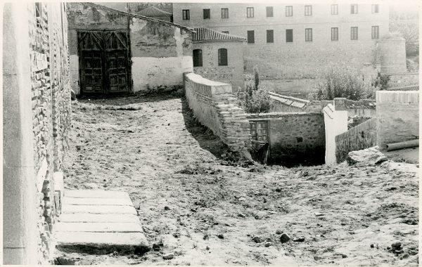 MMH-341-Obras de urbanización del callejón de San José_1960 - Fot Flores