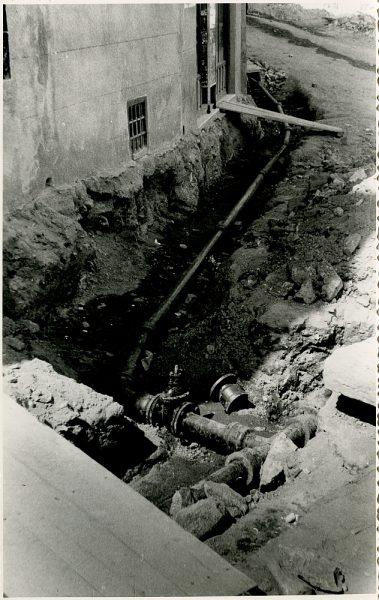 MMH-347-Obras de urbanización en la calle Venancio González_1960 - Fot Flores