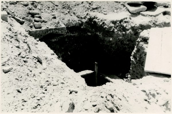 MMH-353-Obras de urbanización en la calle Venancio González_1960 - Fot Flores