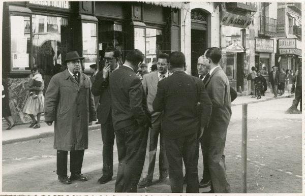 MMH-385-Obras de urbanización de la plaza de Zocodover_1961 - Fot Flores