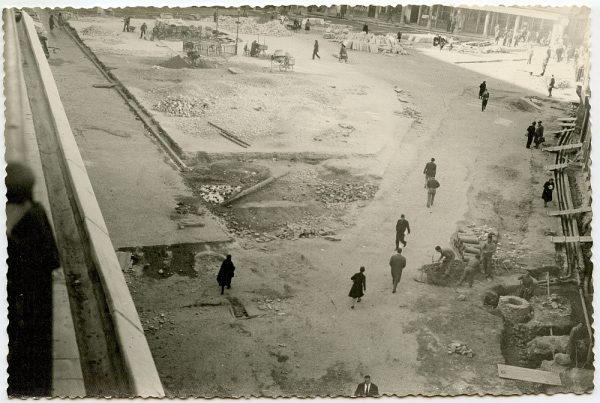 MMH-386-Obras de urbanización de la plaza de Zocodover_1961