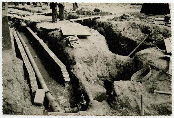 MMH-387-Obras de urbanización de la plaza de Zocodover_1961