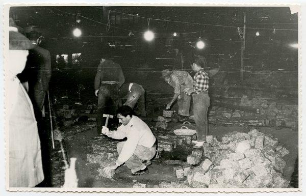 MMH-399-Obras de urbanización de la plaza de Zocodover_1961 - Fot Flores