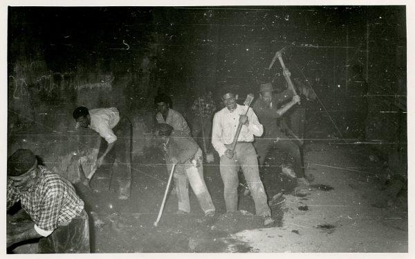 MMH-400-Obras de urbanización de la plaza de Zocodover_1961 - Fot Flores