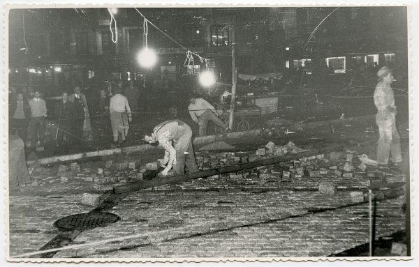 MMH-401-Obras de urbanización de la plaza de Zocodover_1961 - Fot Flores