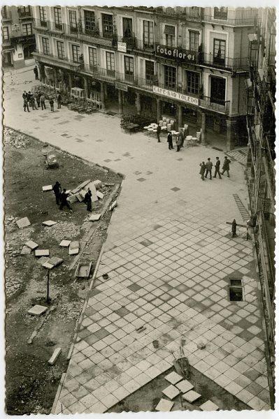 MMH-410-Obras de urbanización de la plaza de Zocodover_1961