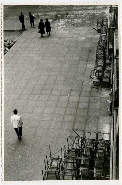 MMH-411-Obras de urbanización de la plaza de Zocodover_1961 - Fot Flores
